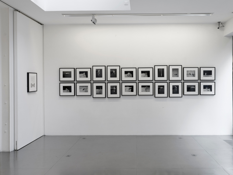 Alina Szapocznikow, Fotorzeźby [Photosculptures], 1971/2007 Twenty gelatin silver prints, collage and text on paper Shooting: Roman Cieslewicz 9 7/16 x 11 13/16 in and 11 13/16 x 9 7/16 in (each) Ed. N° 7/12 Courtesy The Estate of Alina Szapocznikow / Piotr Stanislawski / Galerie Loevenbruck, Paris © ADAGP, Paris. Photo Fabrice Gousset