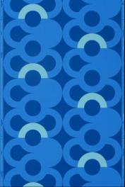 « Tabora », dessinateur : Paule Leleu, Manufacture Follot, Paris, vers 1972 Papier continu à pâte mécanique, impression au cylindre © Les Arts Décoratifs / photo : Jean Tholance, Musée des Arts décoratifs, Paris, 2016