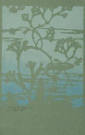 Sans titre, 1905 Henri Sauvage, dessinateur et éditeur, papier teinté, impression au pochoir © Les Arts Décoratifs, Paris / photo : Jean Tholance, Musée des Arts décoratifs, Paris, 2016