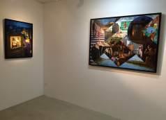 Vue d'exposition, Sergio Ceccotti