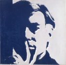 Andy Warhol, Selfportrait 1966 Encre sérigraphique sur toile © The Andy Warhol Foundation for the Visual Arts, Inc. / Adagp, Paris 2016 Crédit photo : Yves Bresson / MAMC