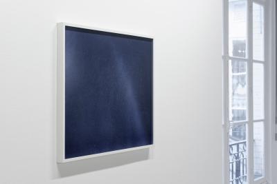 Dove Allouche - Over the Rainbow, 2015, diptyque, graphite, encre sur papier et verre soufflé, 17 x 91 cm - Courtesy Fondation d'entreprise Ricard