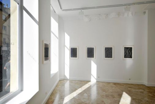 Choi Byung-So, vue d'exposition à la galerie Maria Lund. Courtesy galerie Maria Lund. Copyright Marc-Antoine Bulot.