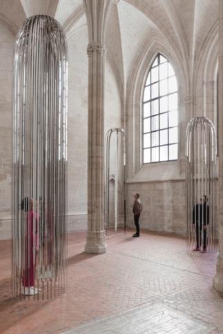 Vue de l'exposition Ongoing Reflection, You, Me, So Many au Collège des Bernardins jusqu'au 18 décembre 2016.