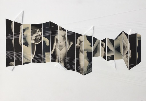 Claudia Huidobro, Collage 21, 2016. Courtesy Galerie les filles du calvaire