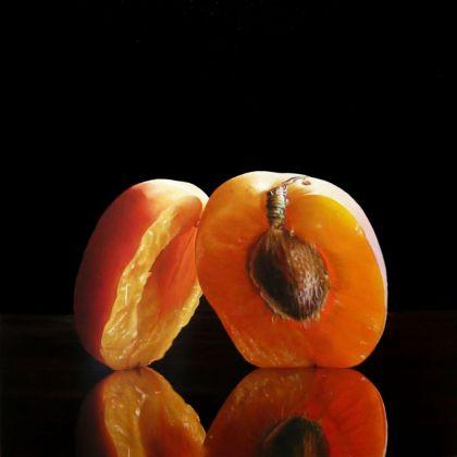 Emanuele Dascanio, La virtù degli sposi, olio su tavola, 40x40 cm, 2008. Courtesy de l'artiste.