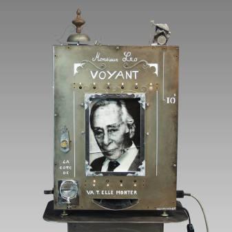 Monsieur Léo, Peyre, 1994-2013, électromécanique © memento-mori