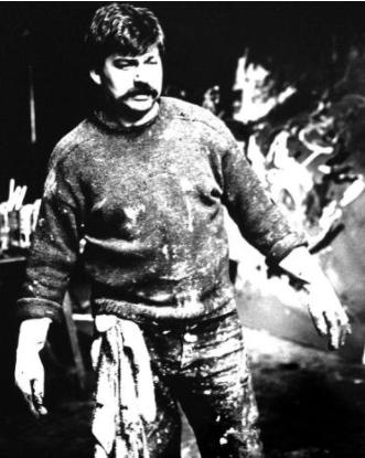 Extrait du film de Jan Vrijman, La réalité de Karel Appel, 1961, Photo : Ed van der Elsken / Nederlands Fotomuseum © Ed van der Elsken / Nderlands Fotomuseum / Courtesy Annet Gelink Gallery