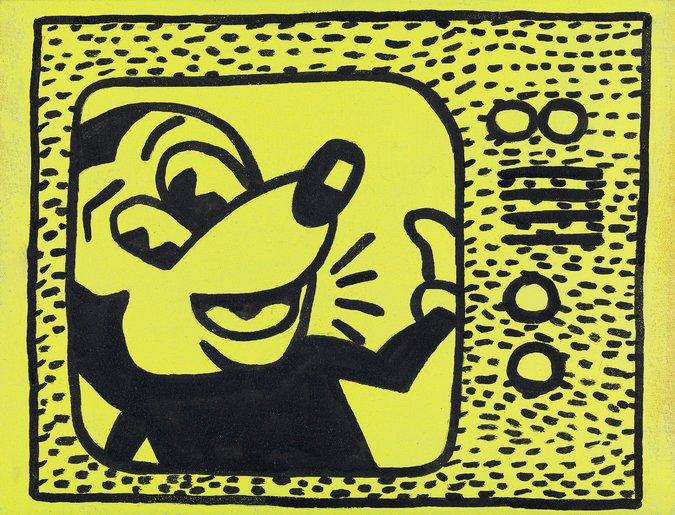 Sturtevant, Haring Tag July 15 1981, 1985/86