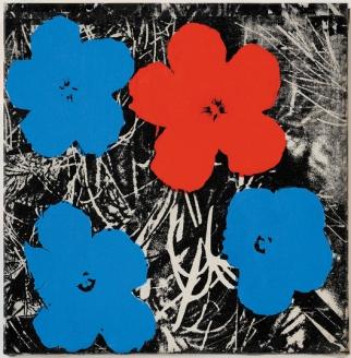 Sturtevant, Warhol Flowers, 1964:65