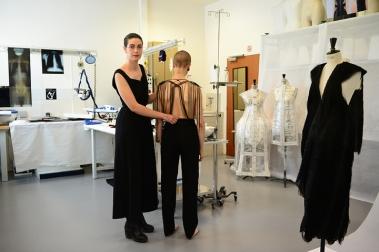 Jeanne Vicerial, Clinique vestimentaire, 2015 © EnsAD / Béryl Libault de la Chevasnerie