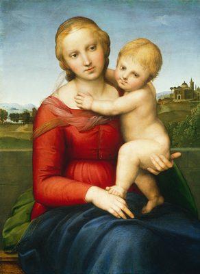 Raphaël, La Madone et l'Enfant, 1505-1506 [3]