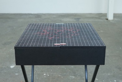 Camille Sauer, Plan de table, 2018. ©André An.
